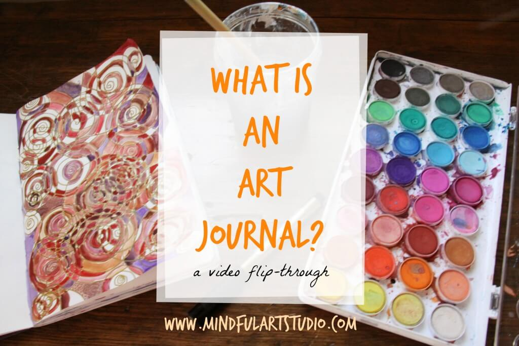 What is An Art Journal? Pic