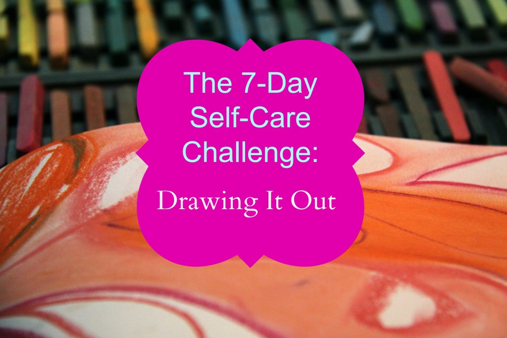 7 Day Self Care Challenge Drawing