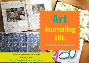 Art Journaling 101 Early Registration