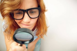 Magnifying glass critical