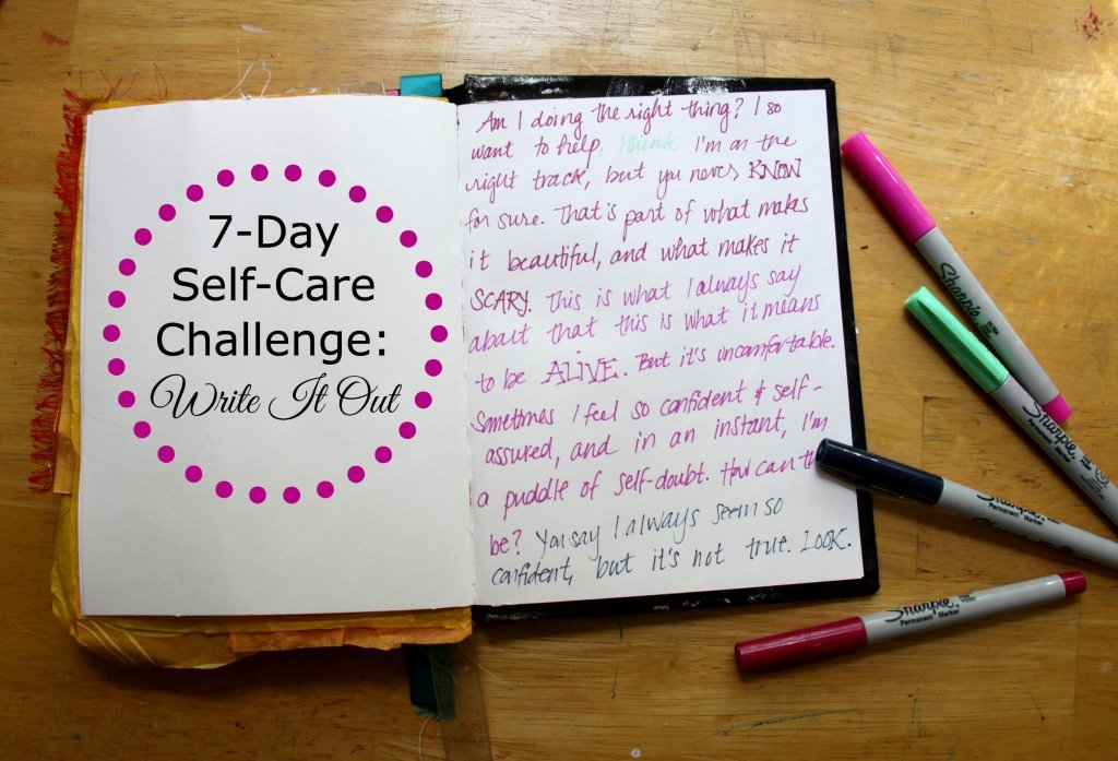 Self Care Challenge Write