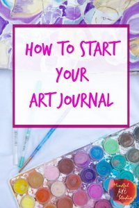 Creative Self Care - Art Journal