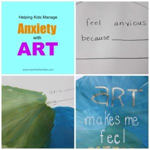 Anxiety With Art Badge