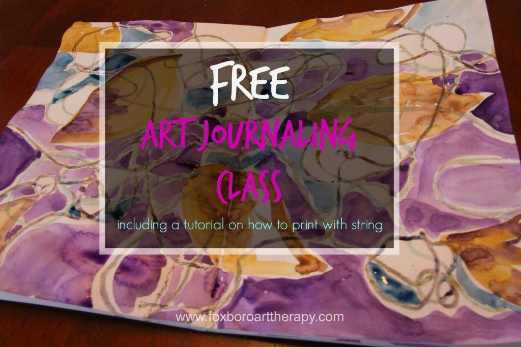 Free Art Journaling Class