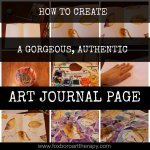 How to Create An Art Journal Page