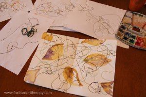 String Painting Impressions