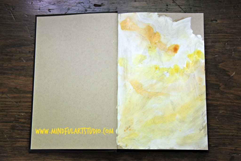 Gesso with Watercolor