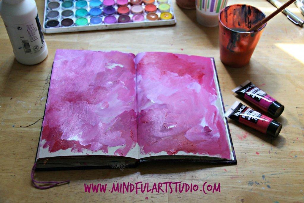 Pink Journal Background