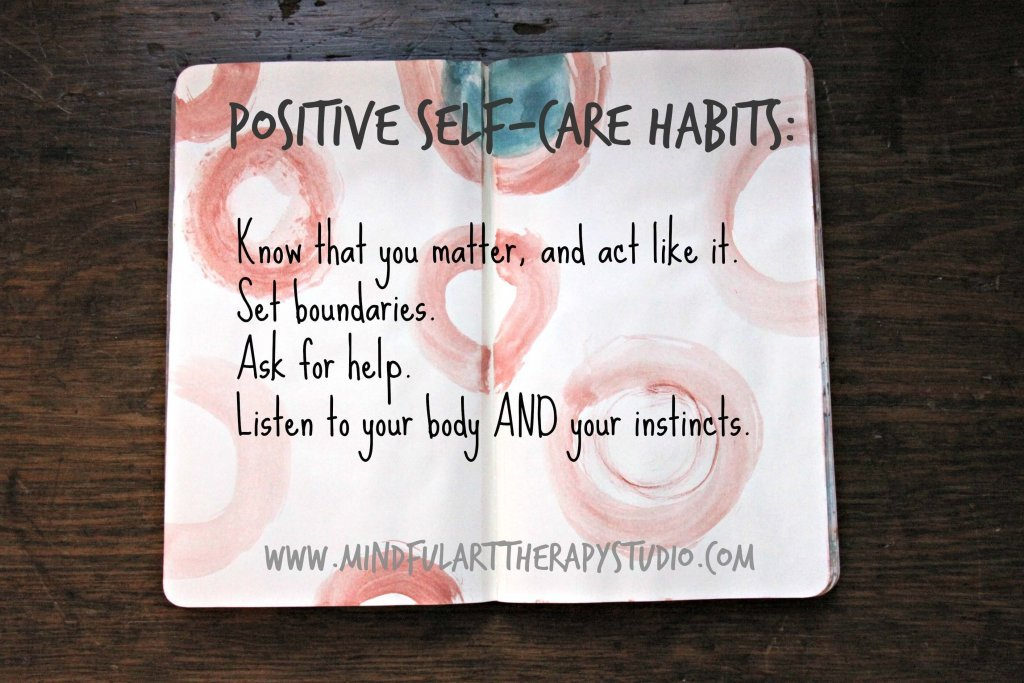 Positive Self Care Habits