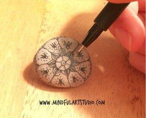 Mandala Pebble