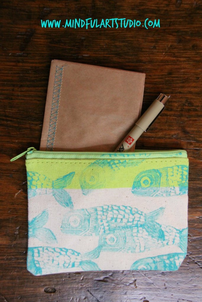 Portable art kit and journal