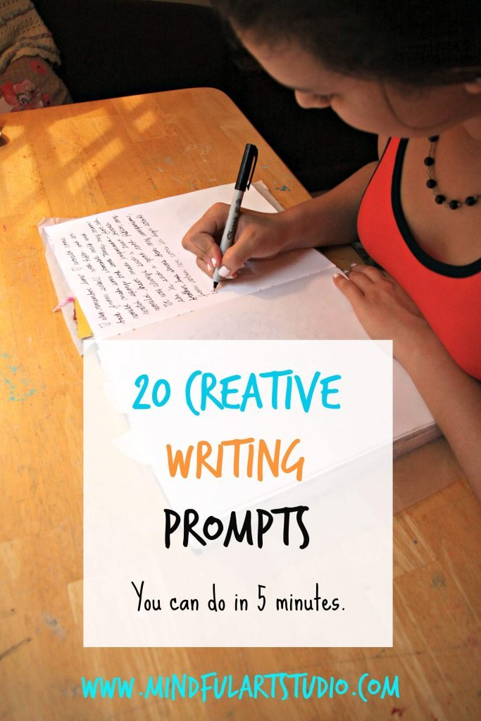 20 Creative Writing Prompts
