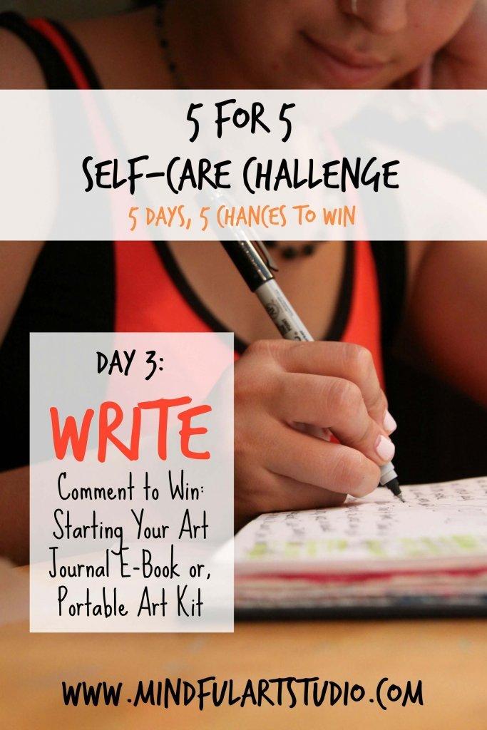 Self Care Challenge Write