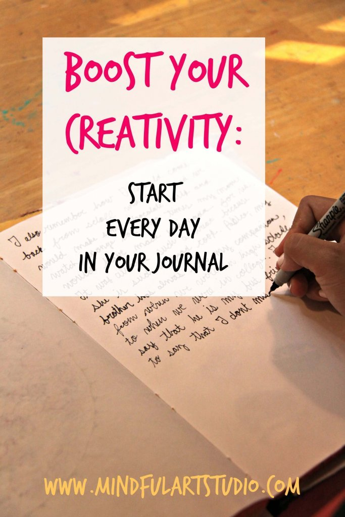 Start Every Day in Your Journal