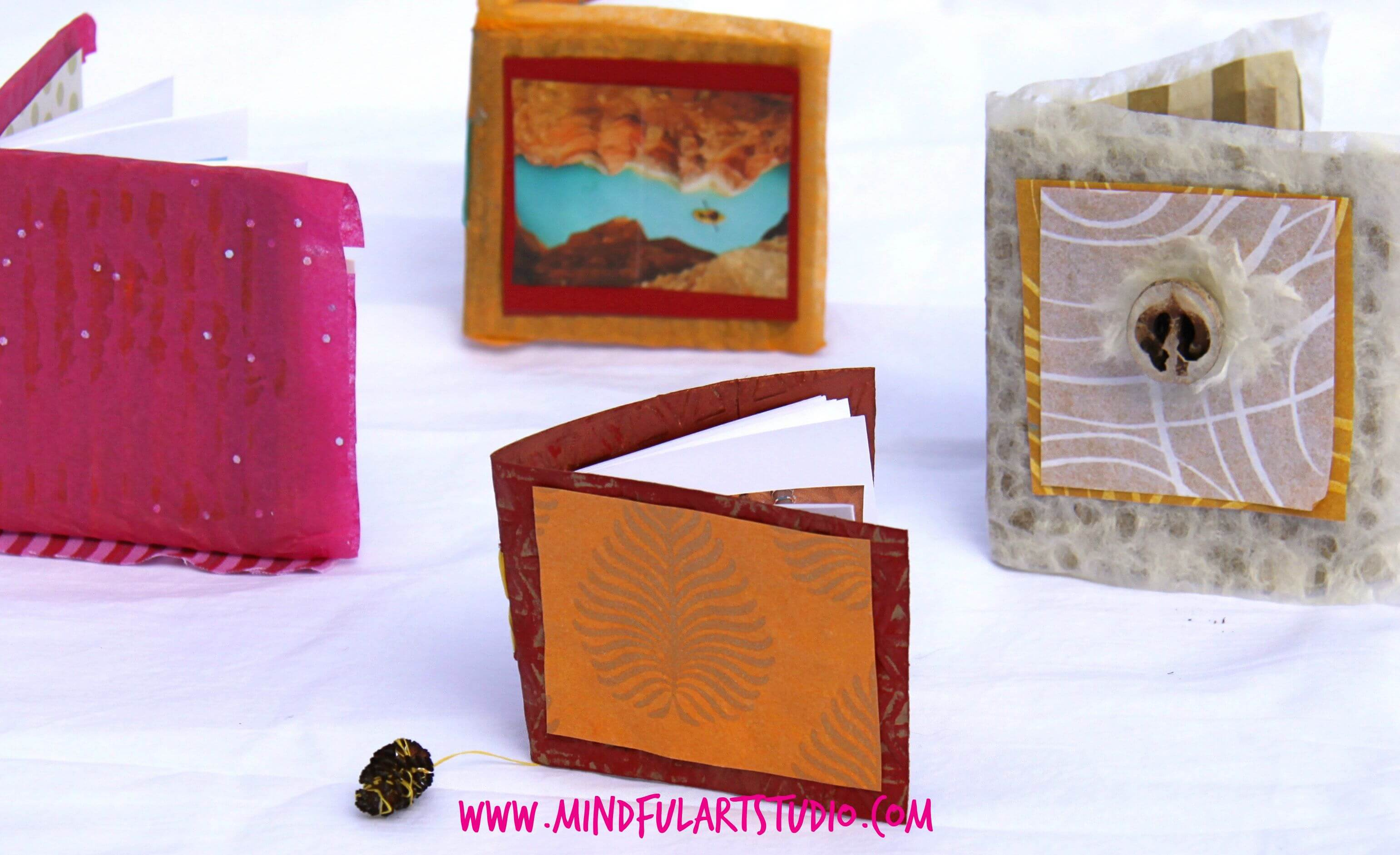 How To Make A Book Journal ~ Handmade art journals you ll want to make