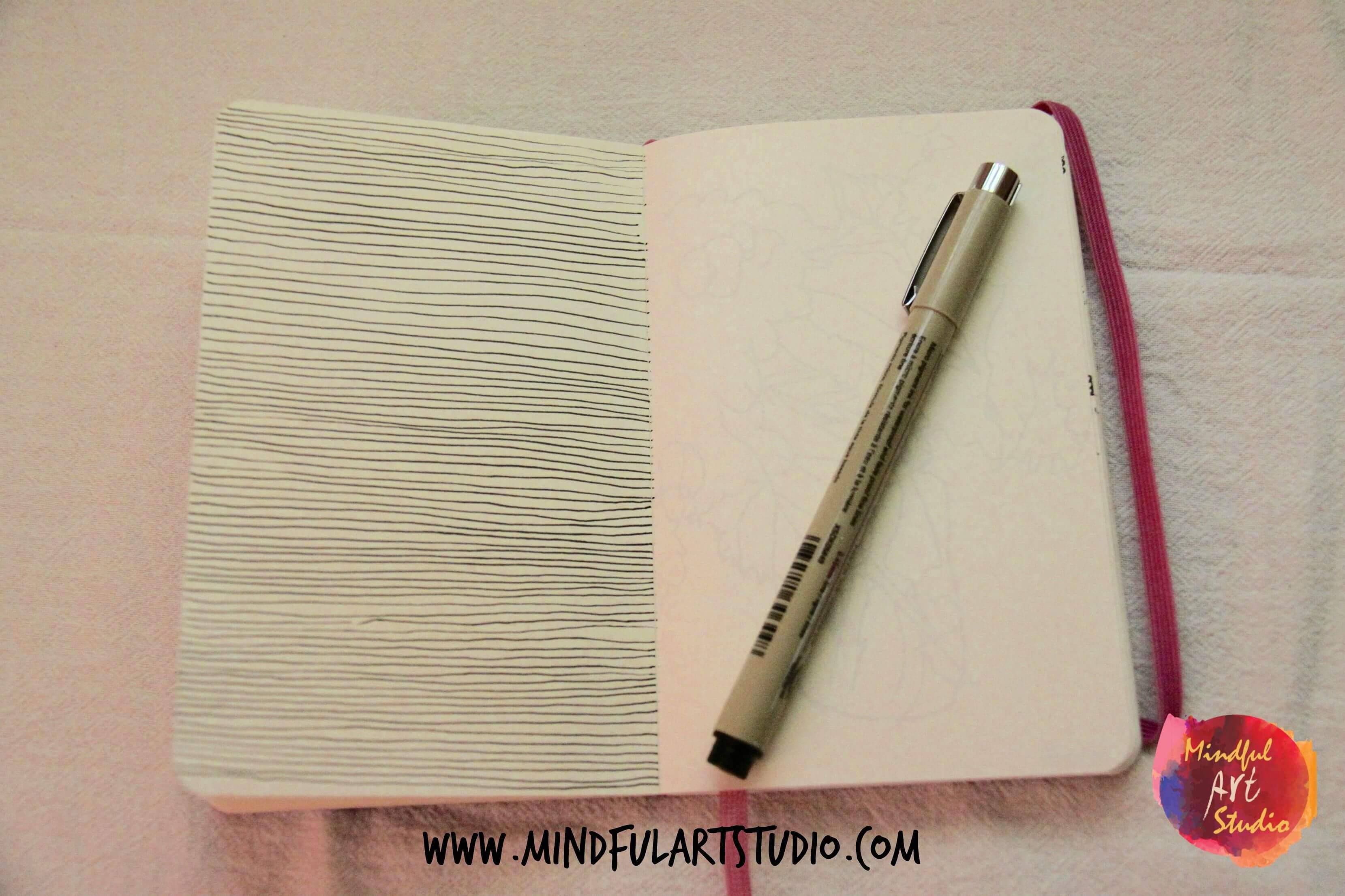 Blind Contour Line Drawing Definition : Blind contour drawing archives mindful art studio