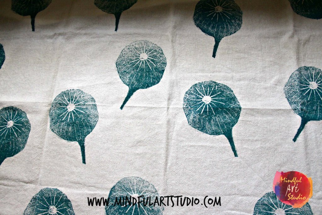 Poppy Tea Towel Print