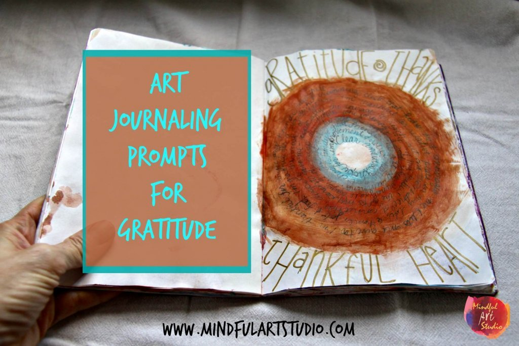 Art Journaling Prompts for Gratitude