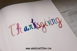 Create a Family Thanksgiving Journal