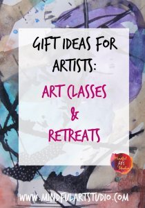 Gift Ideas Art Classes and Retreats