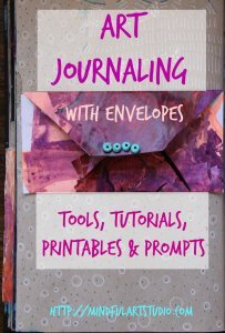 Art Journaling with Envelopes