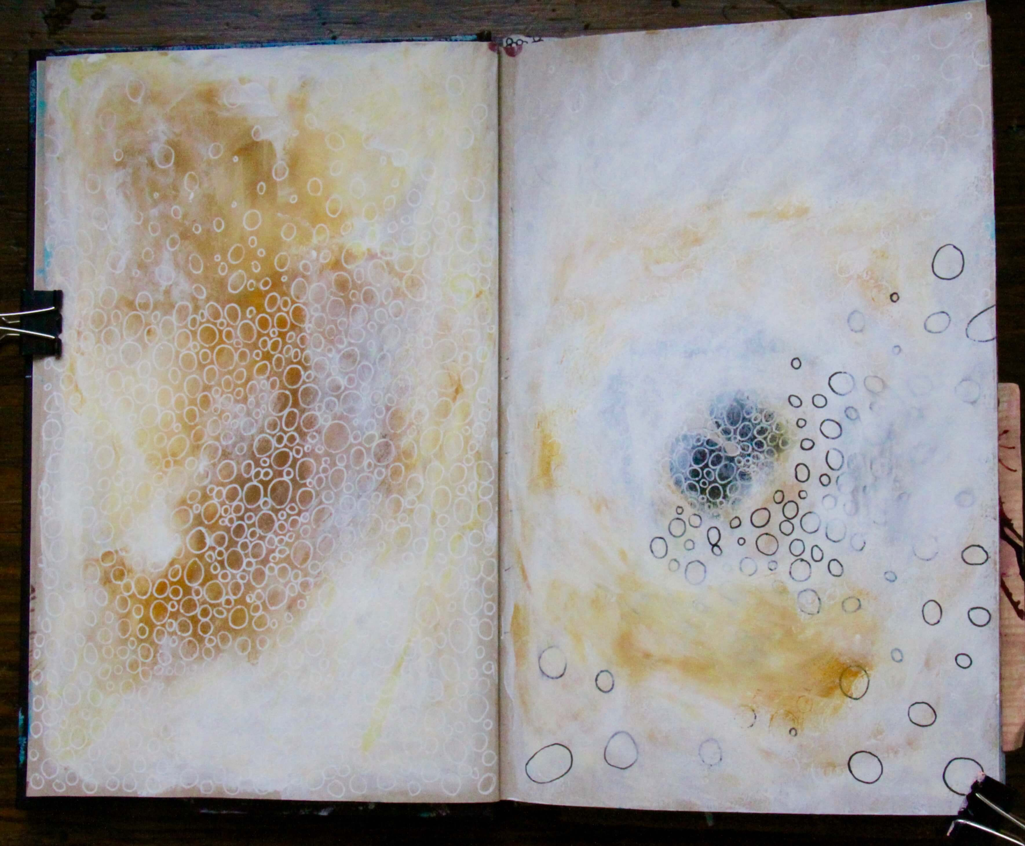 Art journaling inspiration for Journal painting ideas