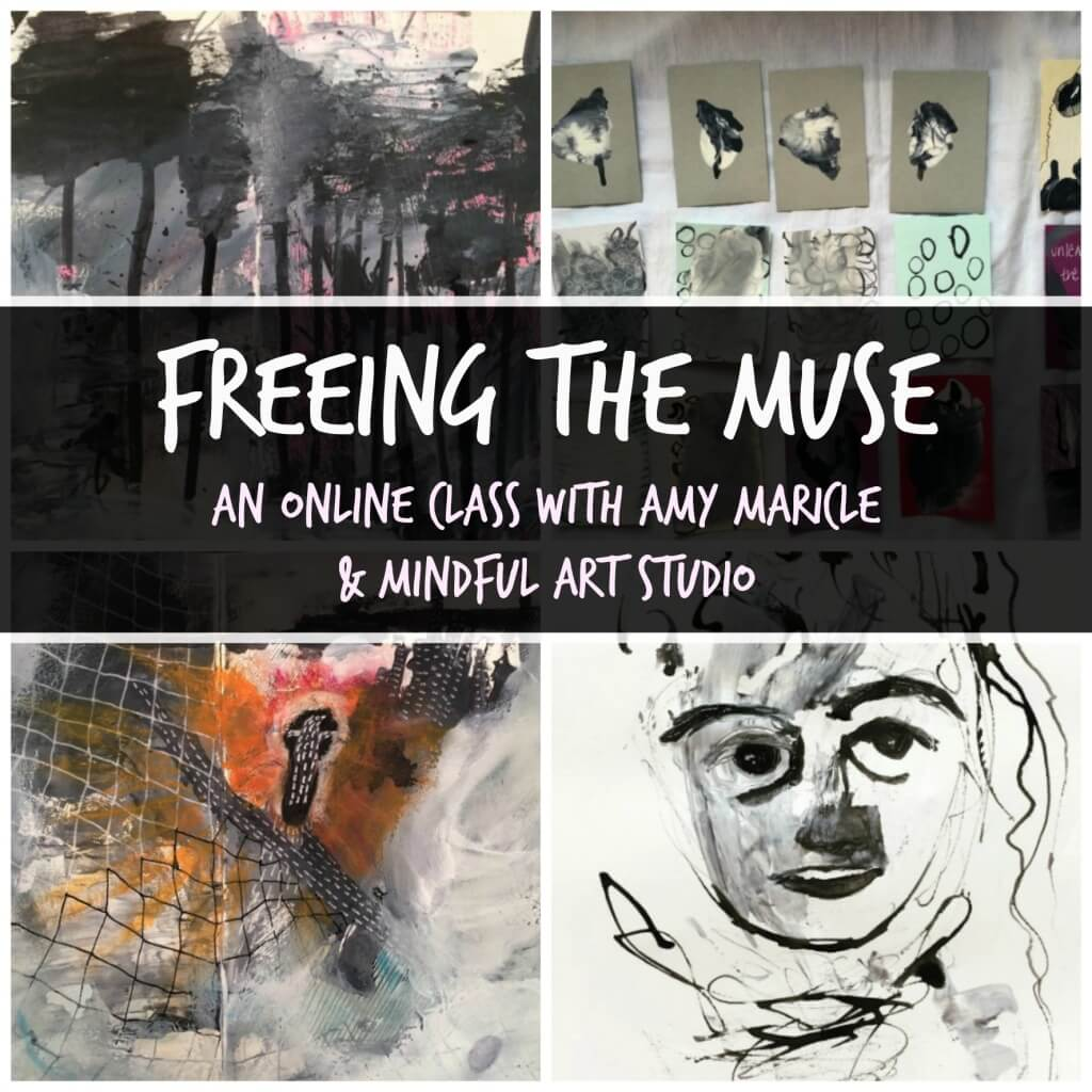 Freeing the Muse- Art journaling for Stress