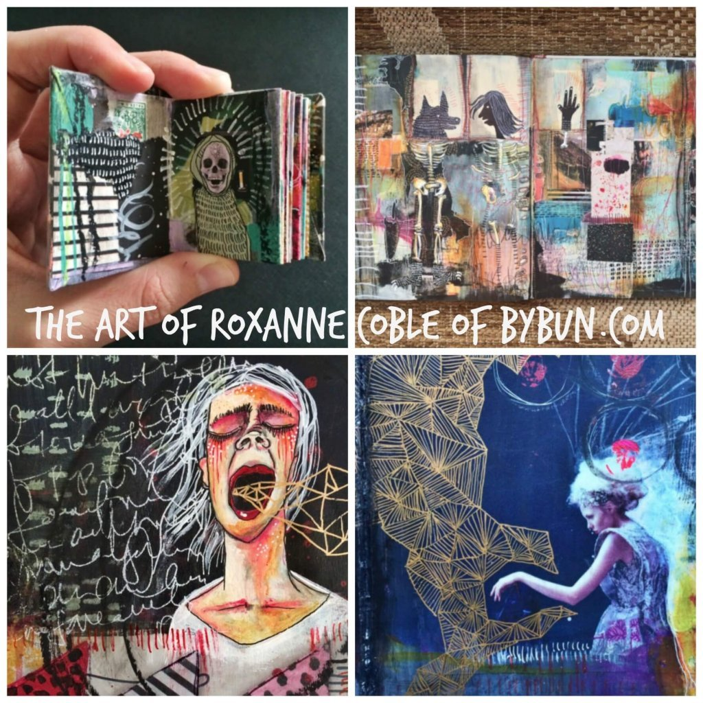 Roxanne Art Collage