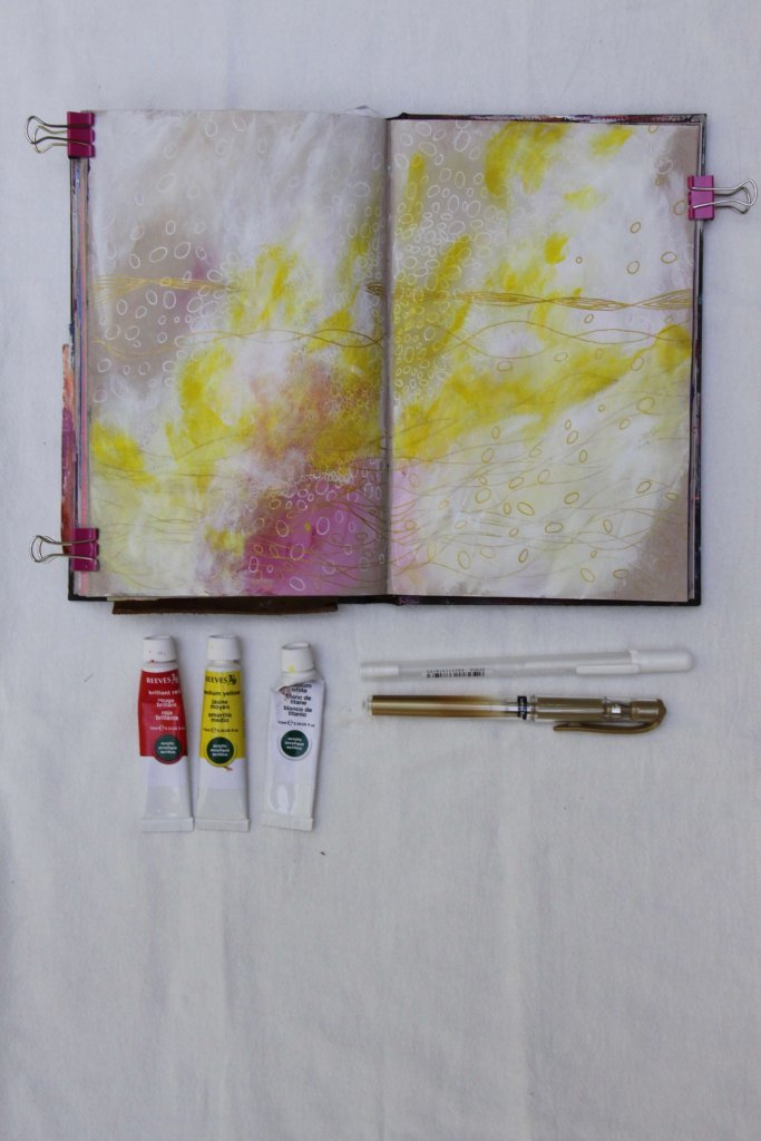 Art Journaling for Anxiety