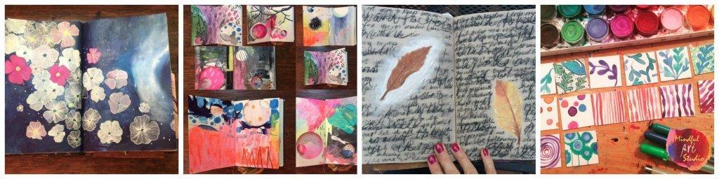 What Is An Art Journal? Art journaling for anxiety, art journaling feelings, art journaling for depression