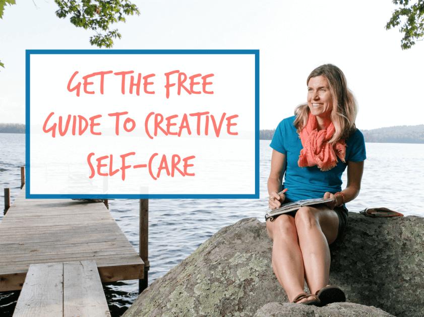 creative self-care, art to feel better, make art and feel better