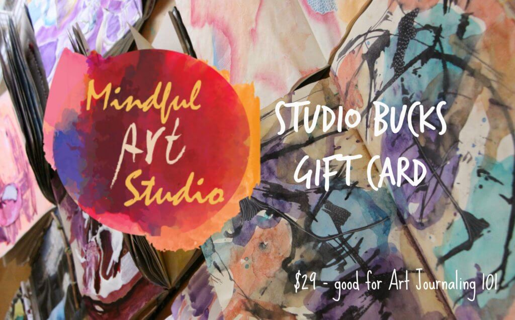 give the gift of creativity, gift card, online art class gift card