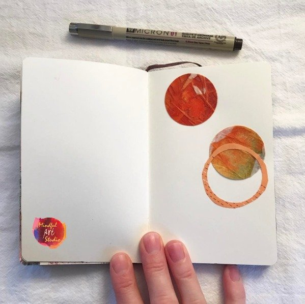 get inspired to art journal