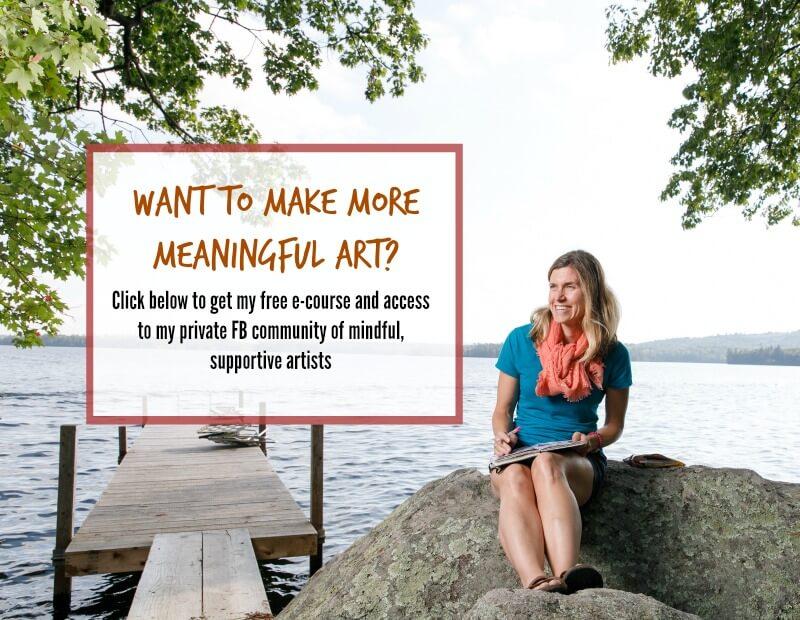 creative self-care ideas, art for self care