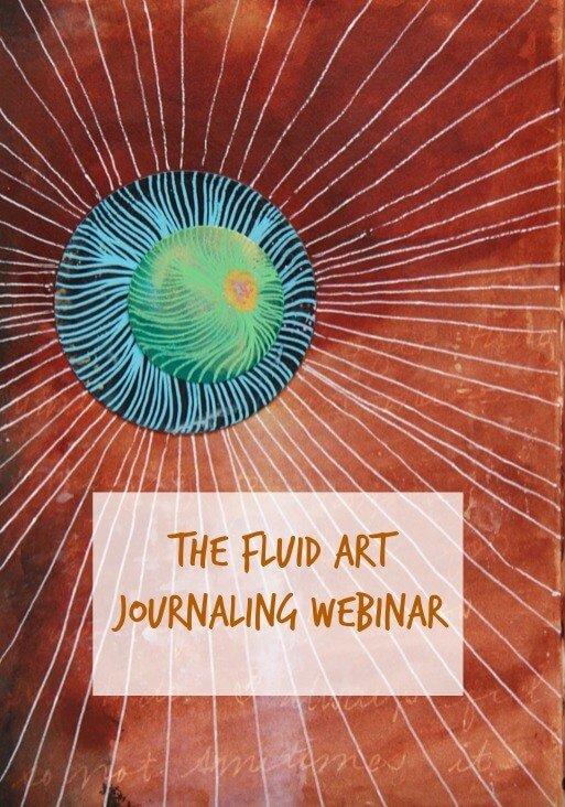fluid art, fluid art journaling