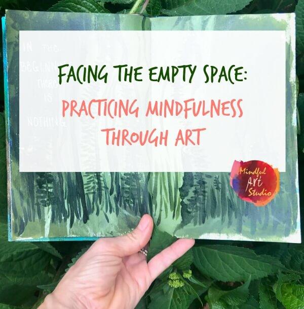 mindful art, mindfulness and art, practicing mindful art