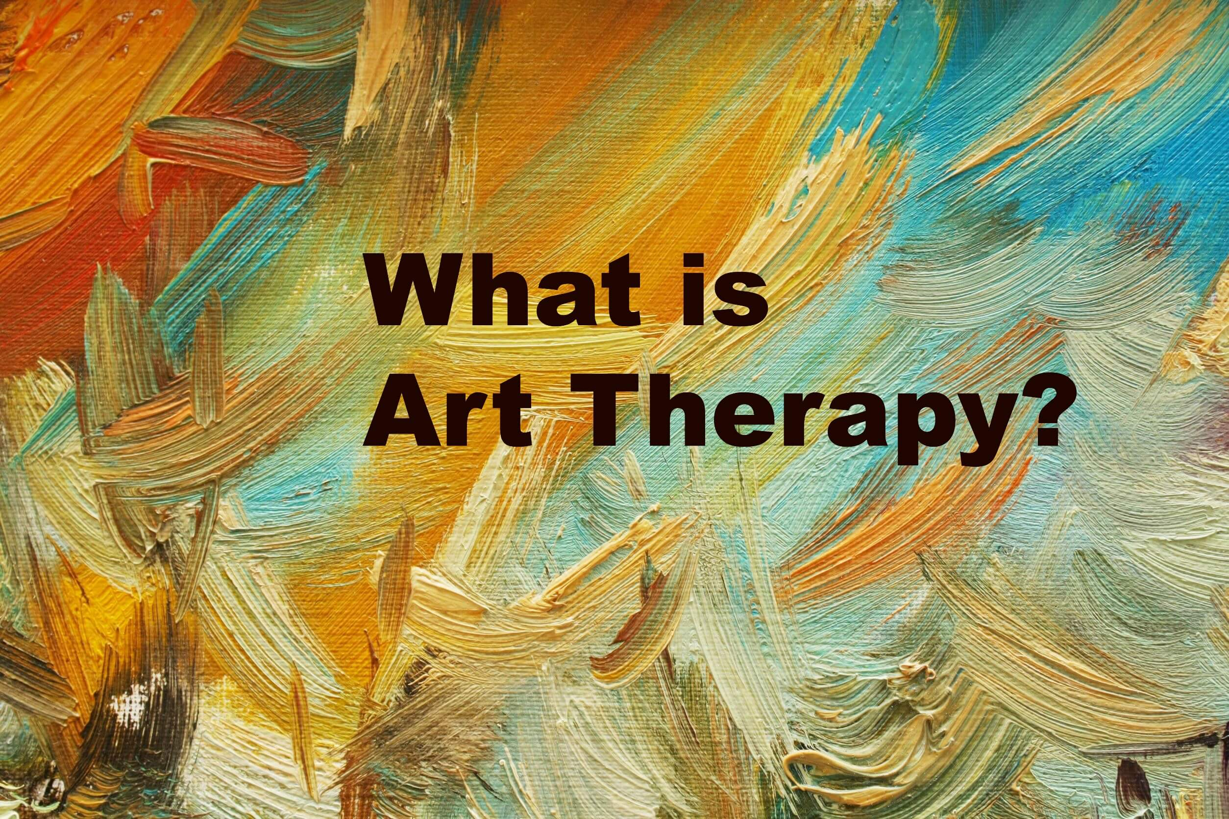 What is Art Therapy? - Mindful Art Studio
