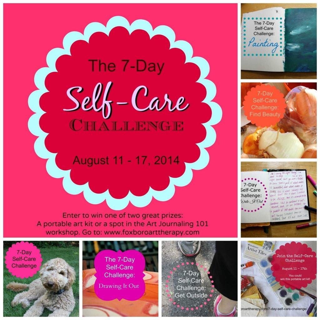 Self-Care Challenge Poster