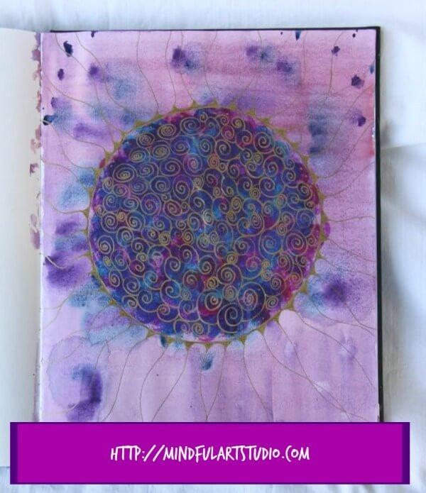 Make a Swirl Mandala