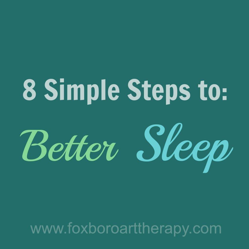 8 Tips Better Sleep II