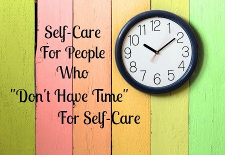 Self-care for parents who don't have time