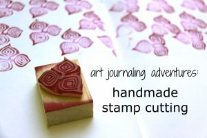 Handmade stamp cutting 2