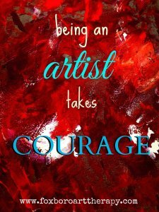 Artist Courage