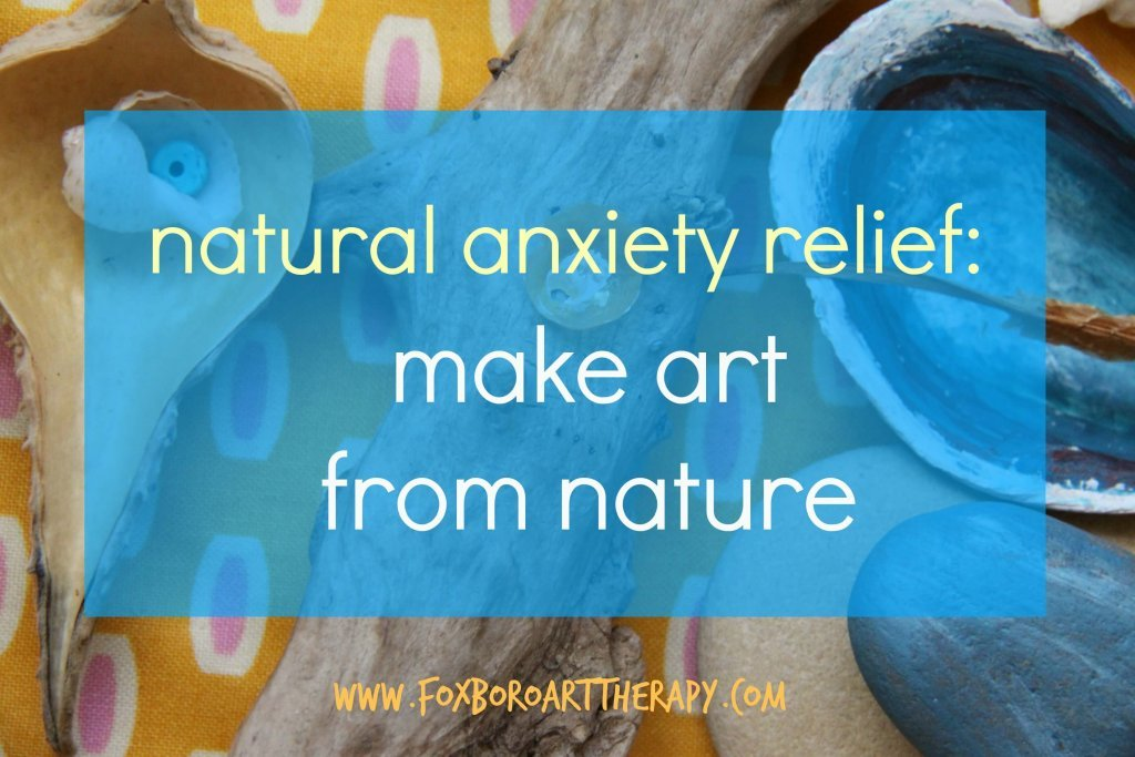Natural Anxiety Relief Art from Nature