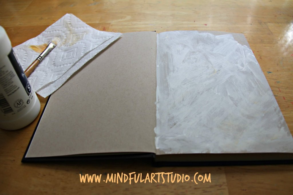 Gesso Journal Background