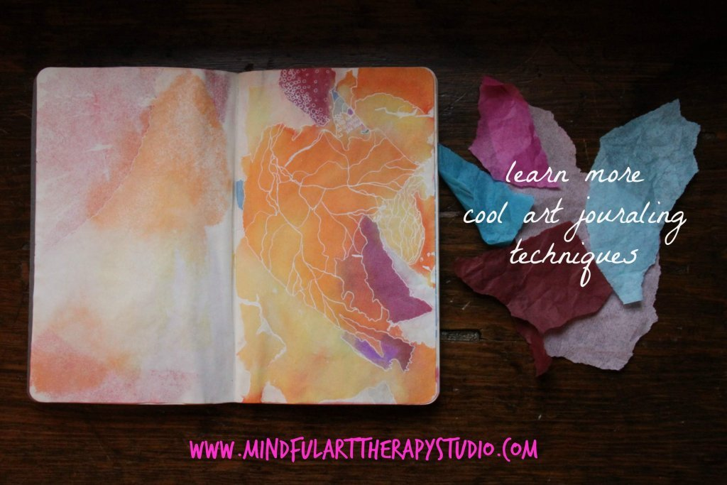 Learn More Art Journaling Techniques