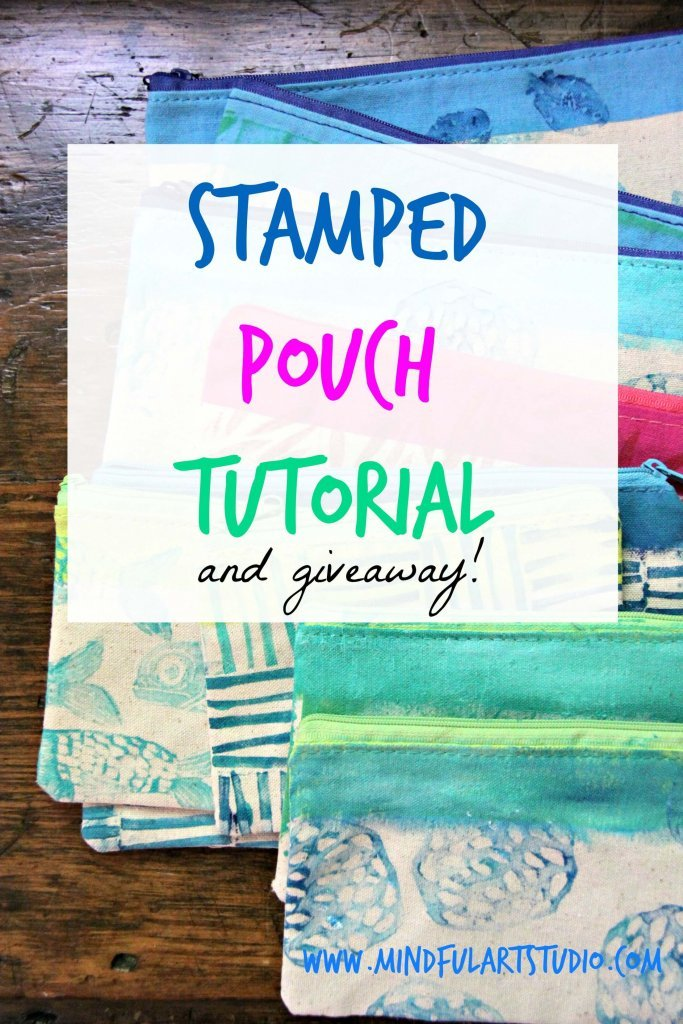 Stamped Pouch Tutorial