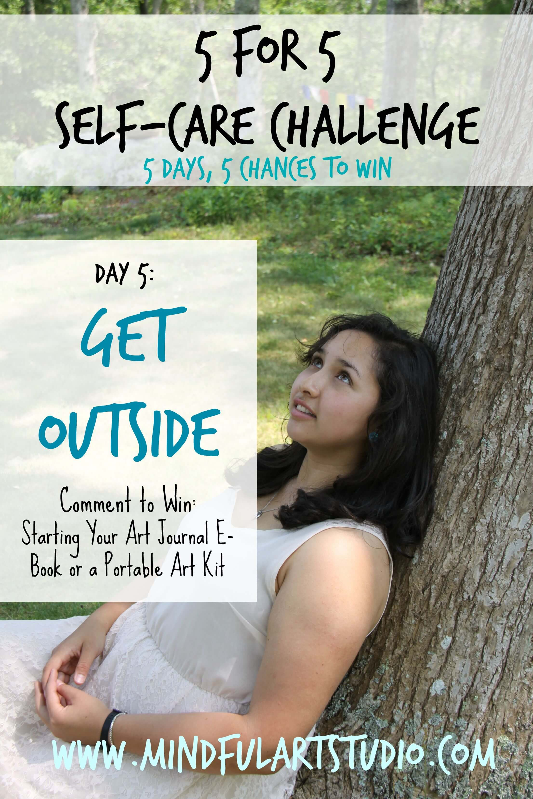 5 for 5 Self-Care Challenge: Get Outside