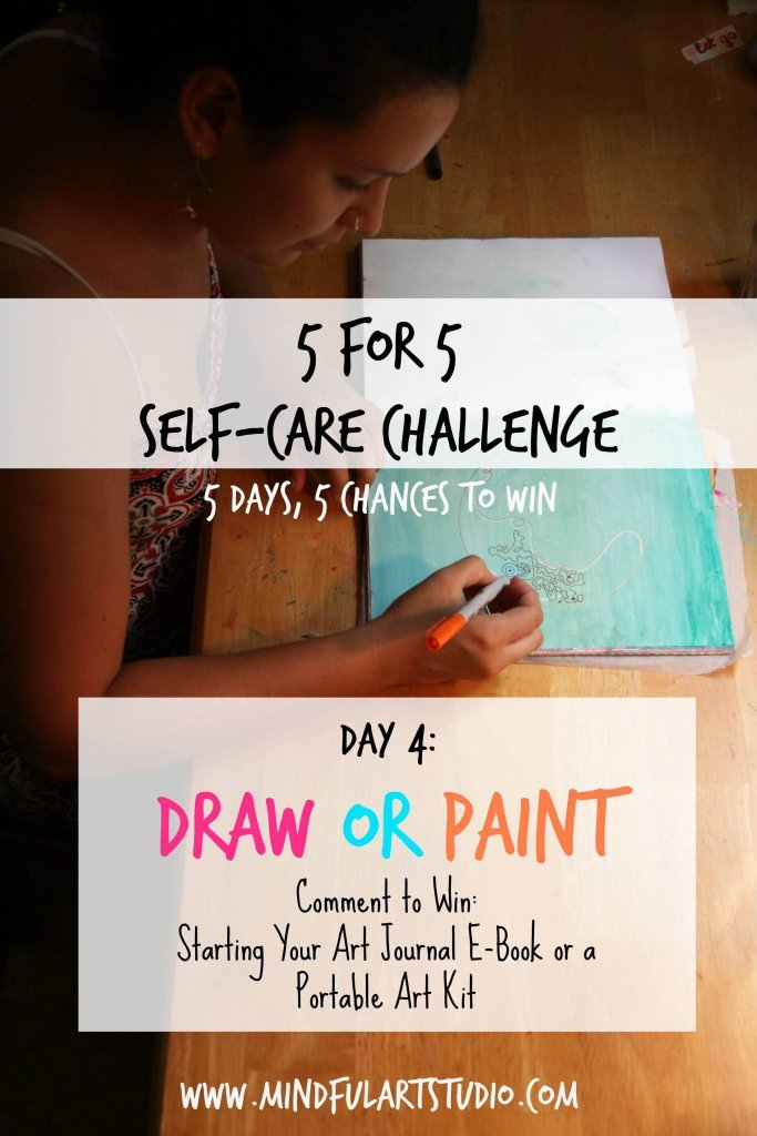 Self Care Challenge Draw or Paint