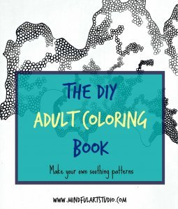 DIY Adult Coloring Book Cover